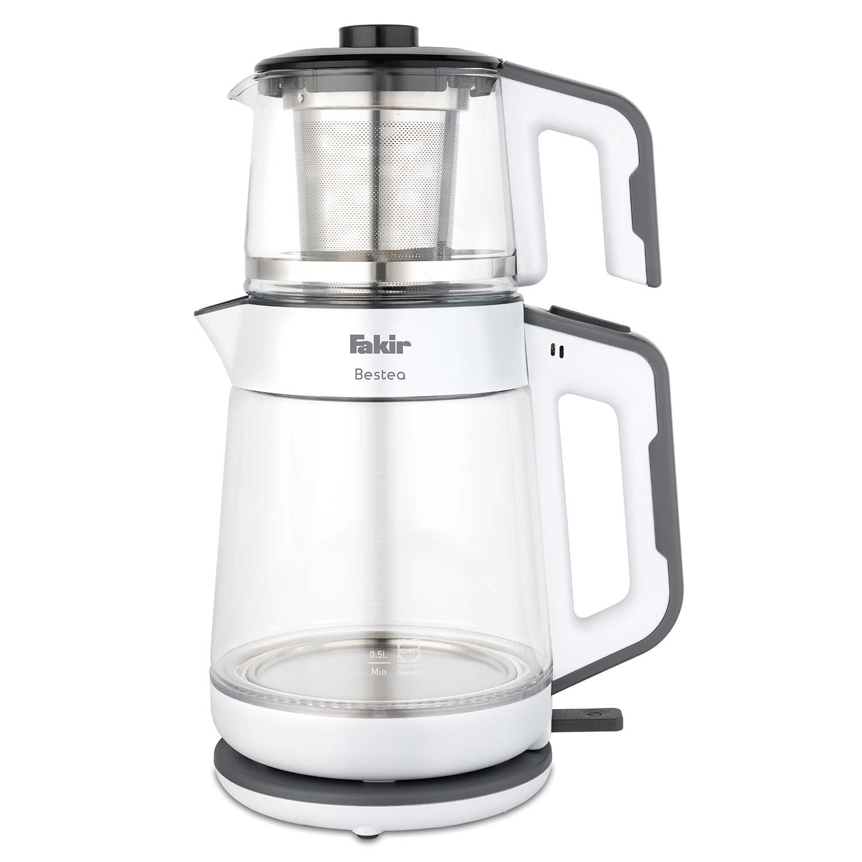 Fakir - Bestea Çay Makinesi Beyaz Gri
