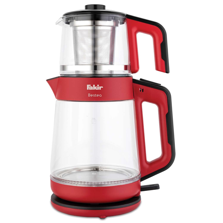 Bestea Çay Makinesi Kırmızı Siyah