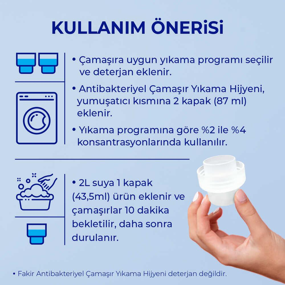 Fakir Antibakteriyel Çamaşır Hijyeni 1500 ml
