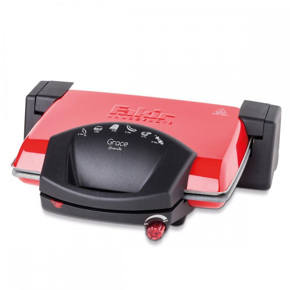 Grace Granit Izgara & Tost Makinesi Kırmızı