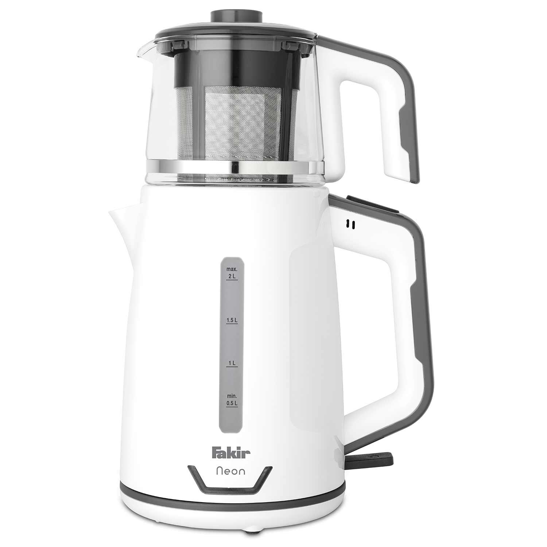 Fakir - Neon Çay Makinesi Beyaz Gri