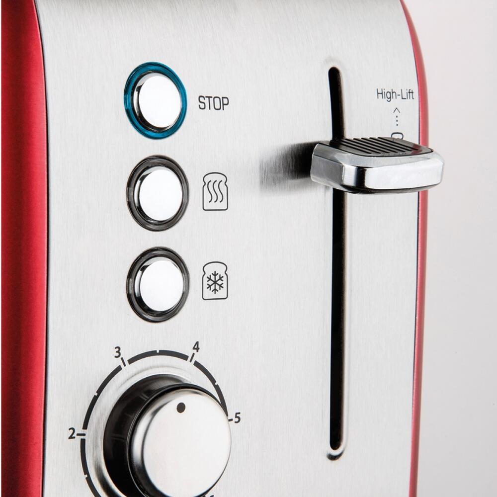 Rubra Ekmek Kızartma Makinesi Kırmızı