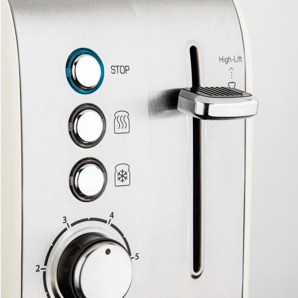 Rubra Ekmek Kızartma Makinesi Krem