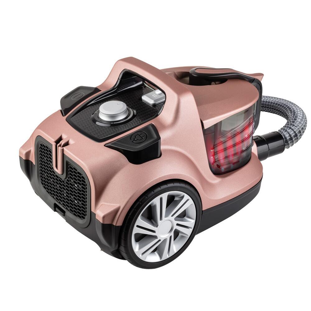 Veyron Turbo XL Premium Toz Torbasız Kuru Vakum Süpürgesi Mat Rosie